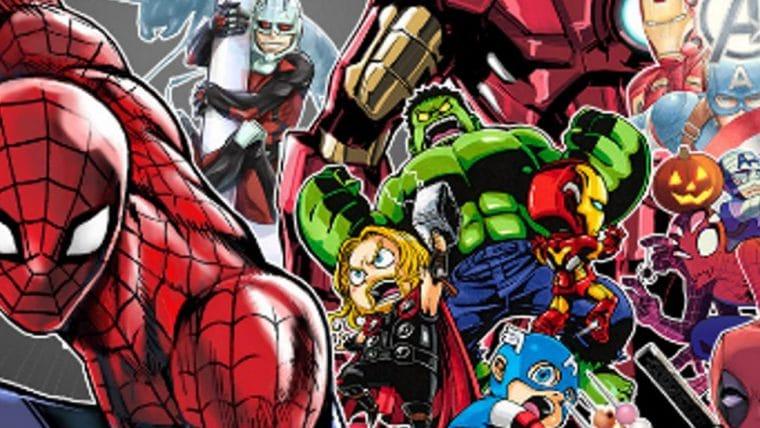 Marvel Comics fará parceria com Shonen Jump e terá heróis em mangá