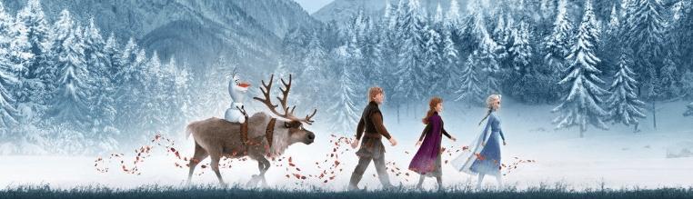 Frozen 2 ganha novo poster internacional