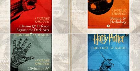 JK Rowling lança quatro novos livros de Harry Potter