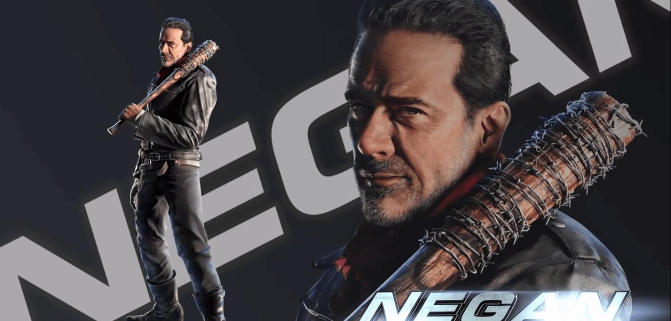 Negan do The Walking Dead chega ao Tekken 7 no final do mês