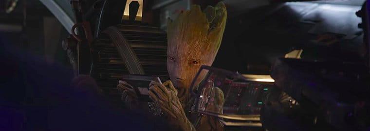 Vingadores Guerra Infinita | James Gunn revela a última fala de Groot em Vingadores: Guerra Infinita