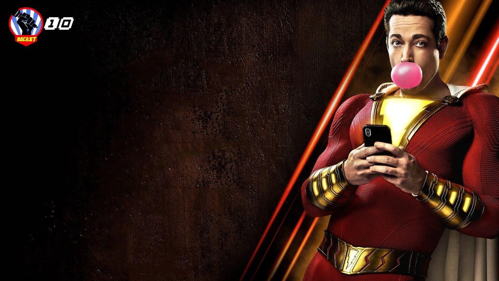 Shazam! O menino homem herói