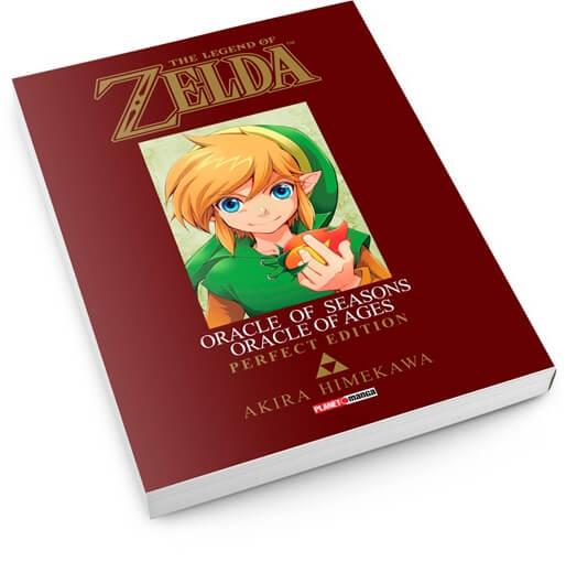 Panini anuncia pré-venda do mangá, The Legend of Zelda: Oracle of Seasons