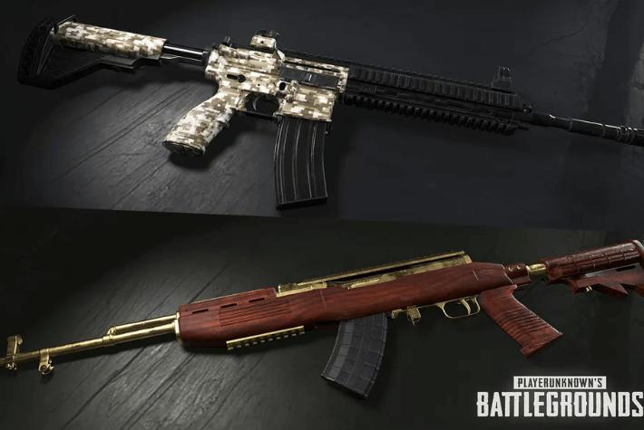PUBG finalmente está recebendo skins de armas