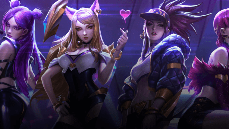 League of Legends | Jogo ganha skins do grupo de K-Pop digital K/DA