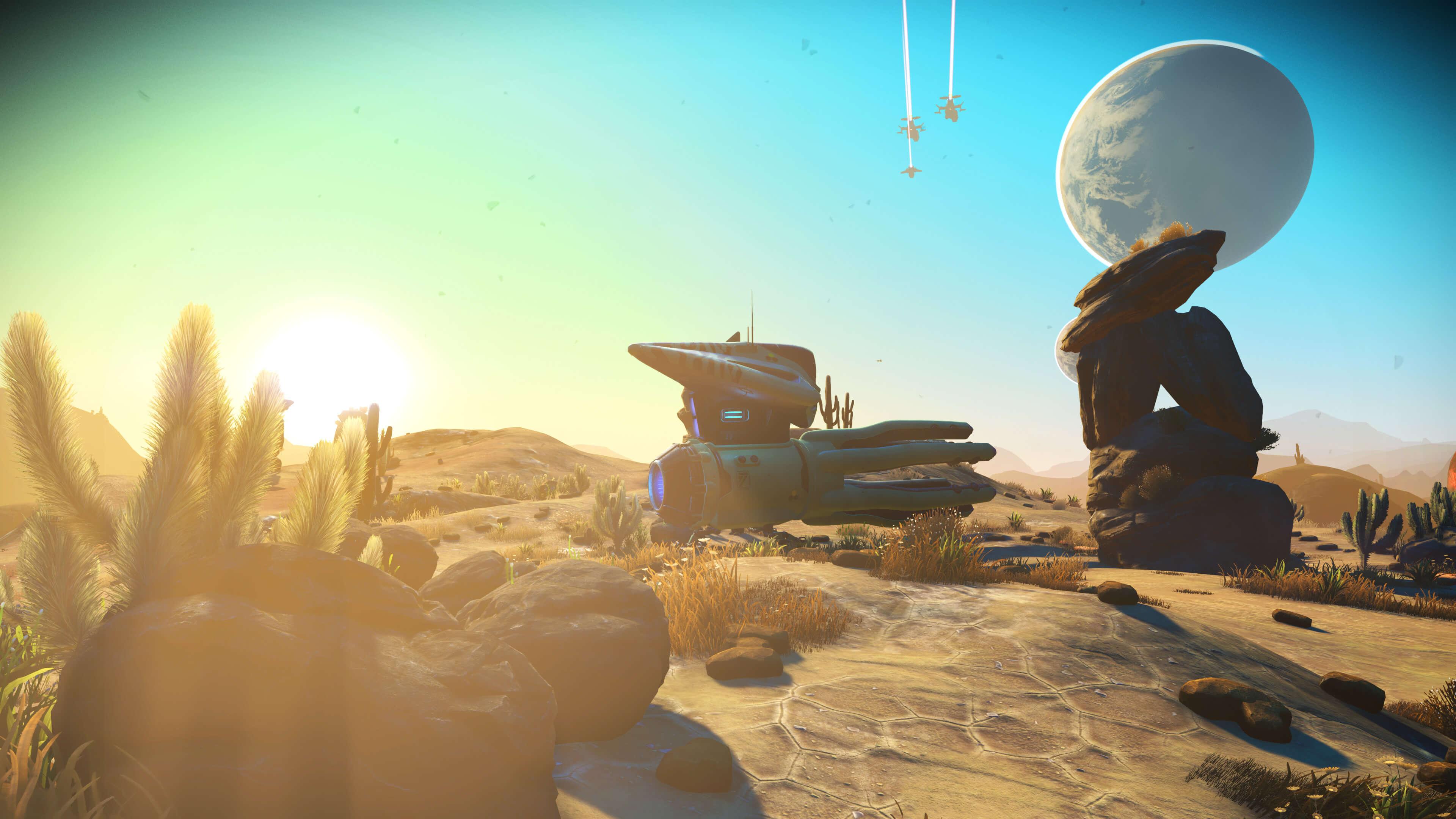 Próxima atualização do No Man's Sky adiciona arqueologia alienígena e um