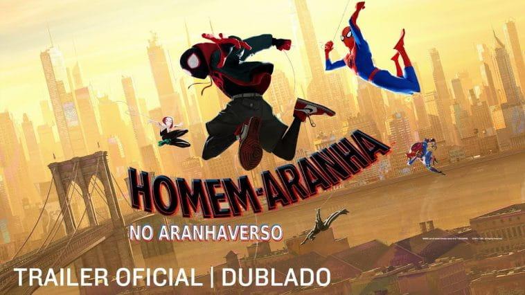 Homem-Aranha no Aranhaverso | Filme ganha trailer DUBLADO!!!