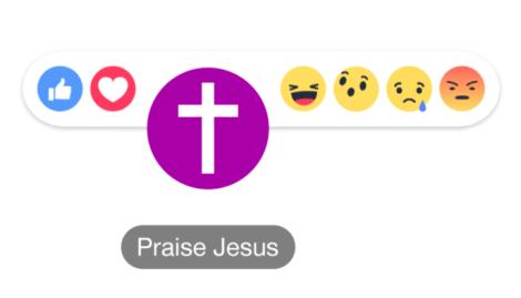 Facebook anuncia o botão Praise Jesus