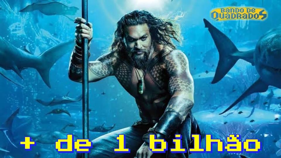 Aquaman | Filme ultrapassa 1 milhão de dólares e  vídeo de agradecimento aos fãs