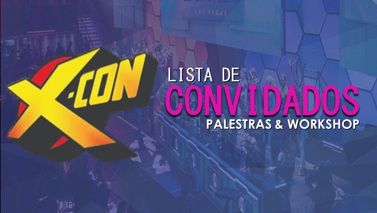 X-CON | Divulgada lista dos palestrantes e Workshop