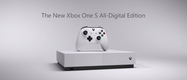 Microsoft apresenta novo o Xbox One S All-Digital Edition