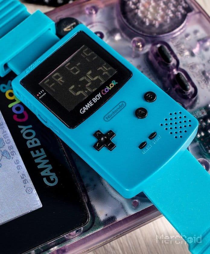 Nintendo traz de volta o Game Boy Color como um relógio retrô