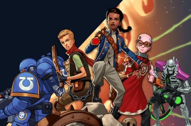 Warhammer 40.000 está lançando uma linha de ficção para jovens e adultos e os fãs estão confusos