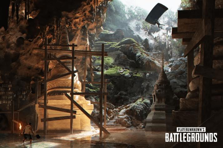 O novo mapa da PUBG permitirá que você entre em um sistema de cavernas subterrâneas