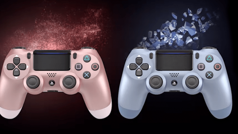 Sony anuncia novas cores para o controle Dualshock 4