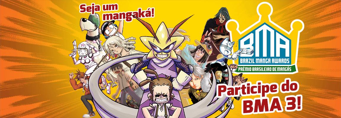Conheça o BMA Brazil Manga Awards