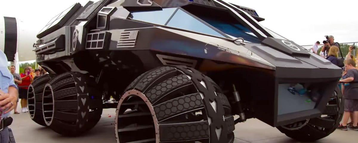 NASA: protótipo de veículo  exploratório para superfície marciana