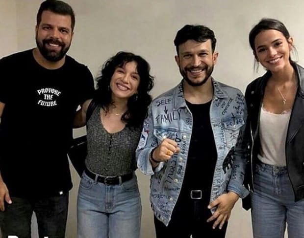 Priscilla Alcântara | Bruna Marquezine acompanha cantora em viagem missionária