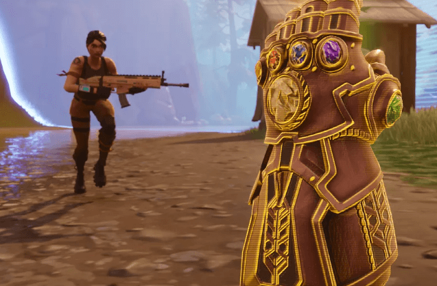 Killing Thanos não é o caminho para vencer no modo Infinity Gauntlet do Fortnite