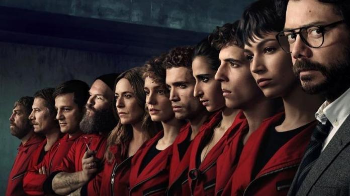 La Casa de Papel é a série mais vista da Netflix no Brasil