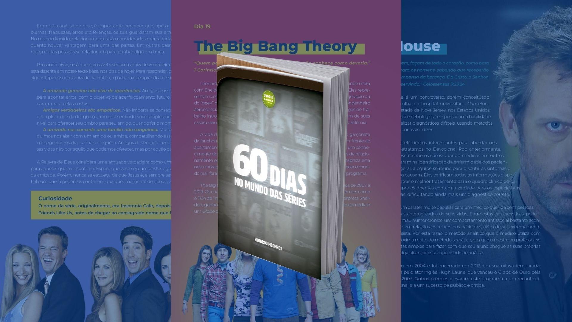 60 Dias no Mundo das Séries   Livro tem anexo surpresa para leitores, entenda tudo