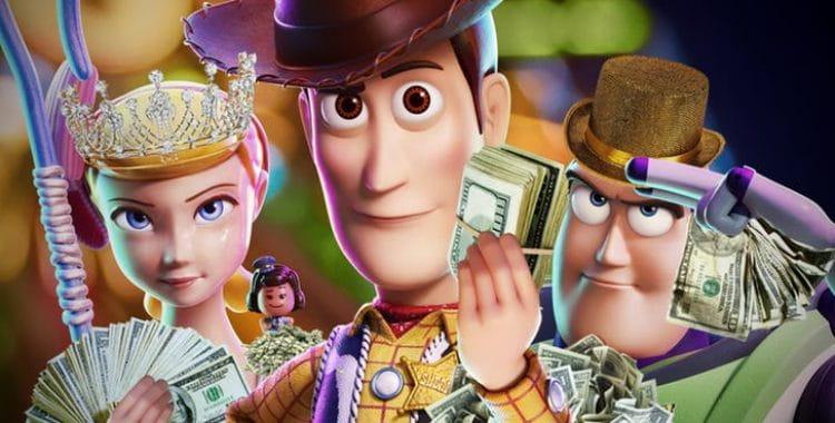 Toy Story | Animação aproxima de um bilhão nas bilheterias mundiais