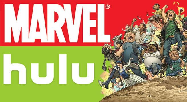 Hulu e Marvel anunciam parceria para produzir séries animadas