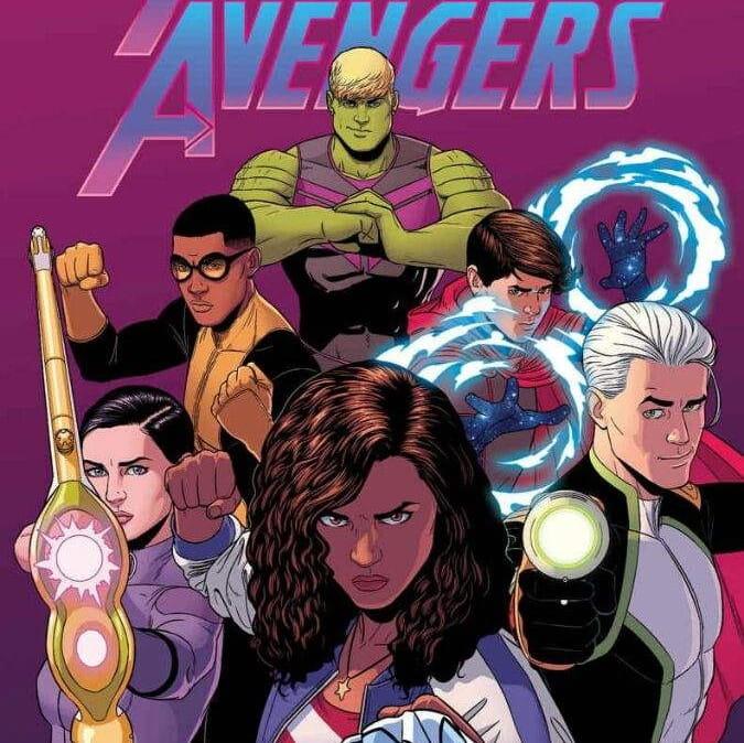 Segundo site Marvel pode estar desenvolvendo um filme dos Jovens Vingadores