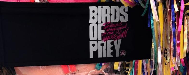 Aves da Rapina | Margot Robbie compartilha imagem revelando que o filme está pronto para ir a fase de pós-produção