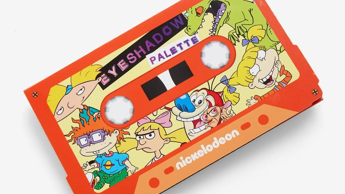 Nickelodeon lança paleta de sombras dos Rugrats