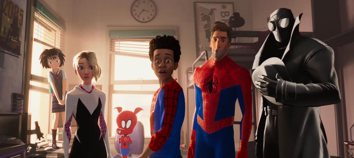 Homem-Aranha no Aranhaverso | Filme ganha trailer com participação especial