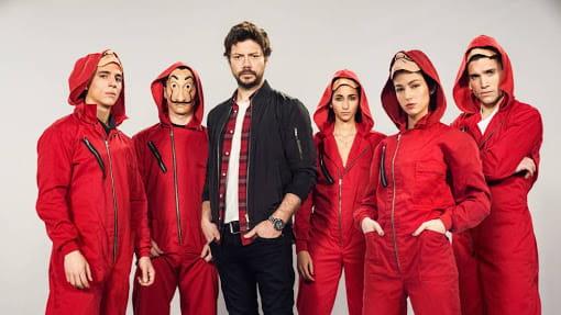 Netflix fecha acordo de exclusividade com o autor de La Casa de Papel