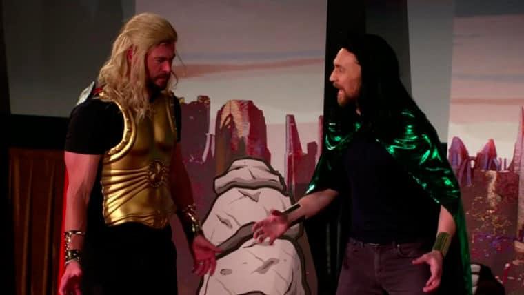 Thor Ragnarok   Elenco faz performance epica ao vivo
