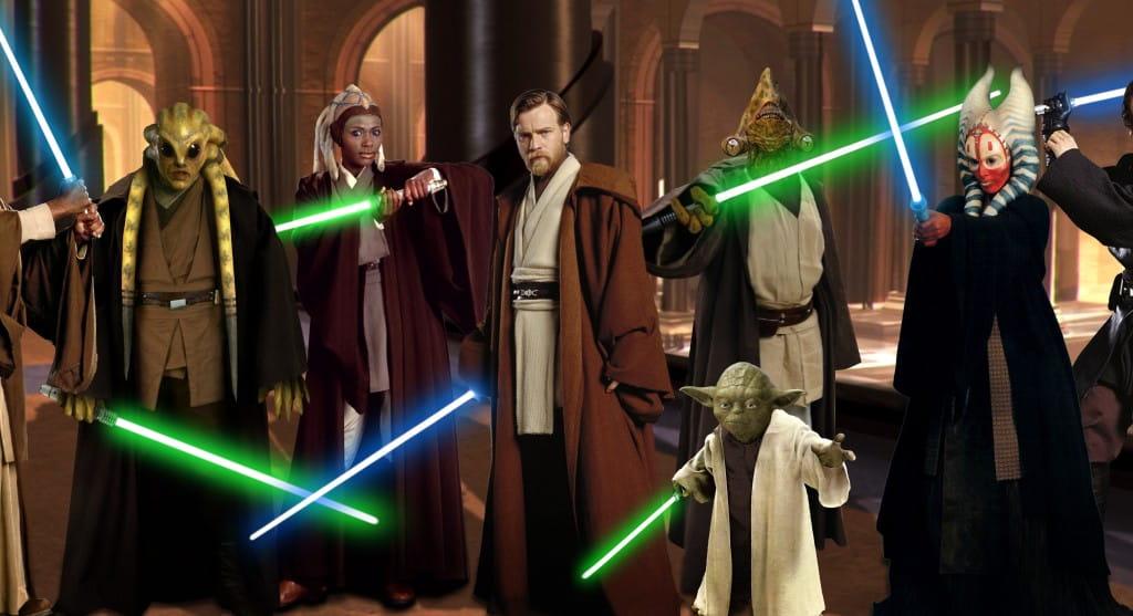 Mestres Jedi e o dia dos professores