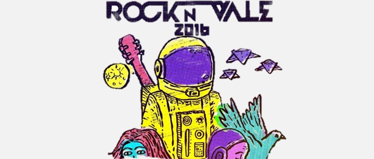 Rock no Vale - Evento dibulga line-up de artistas