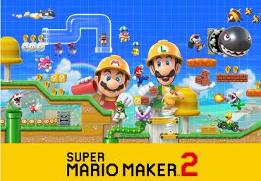 Data de lançamento de Super Mario Maker 2 é revelada