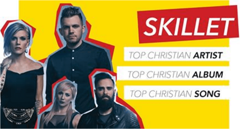Skillet é indicado a três categorias da Billboard Music Award
