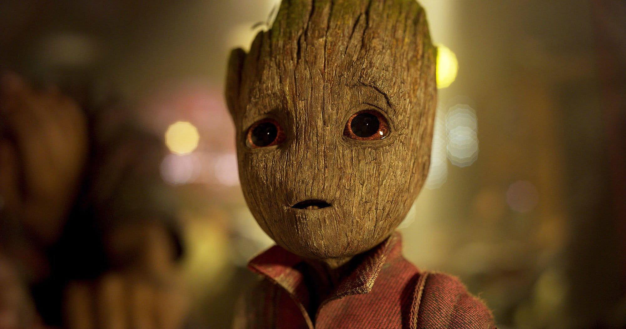 O baby Groot não é o Groot, diz James Guns