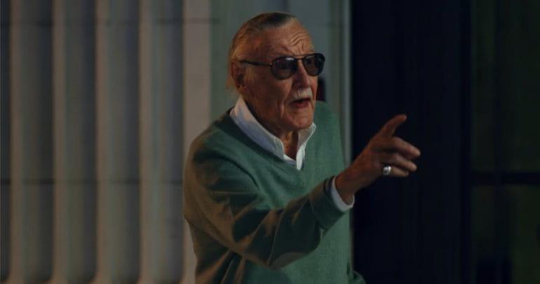 Stan Lee reconhece Homem-Aranha em novo comercial.