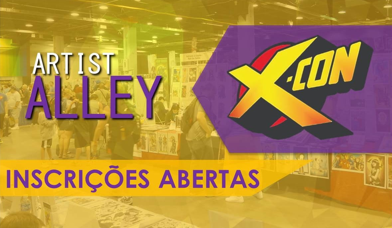 X-CON 2019   Inscrições para Artist Alley Cristão irá até o final de fevereiro