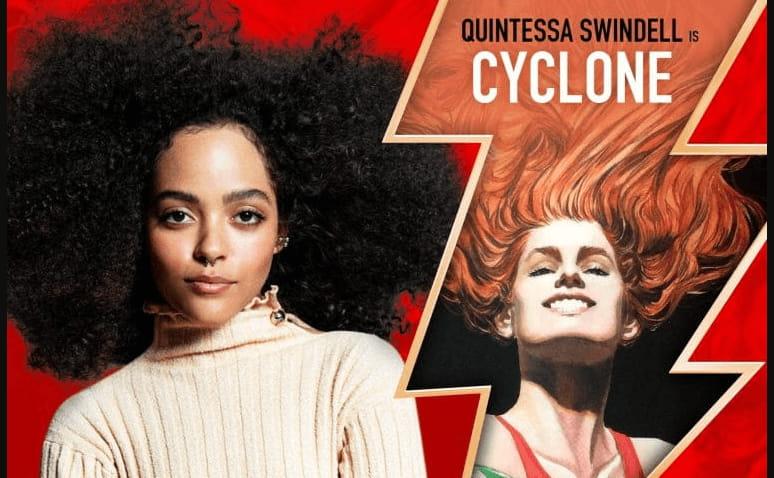 Adão Negro | Quintessa Swindell é anunciada como Ciclone por The Rock