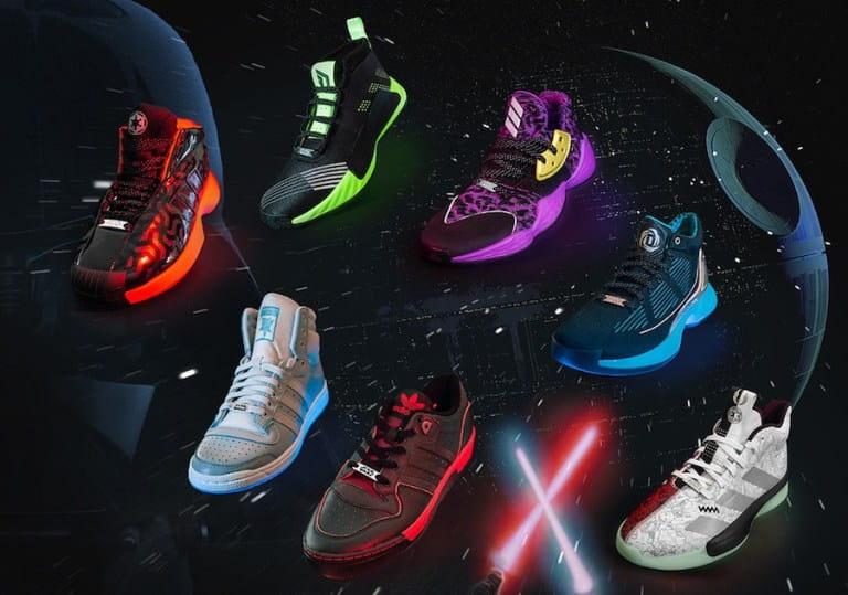Adidas lança coleção de tênis em parceria com Star Wars