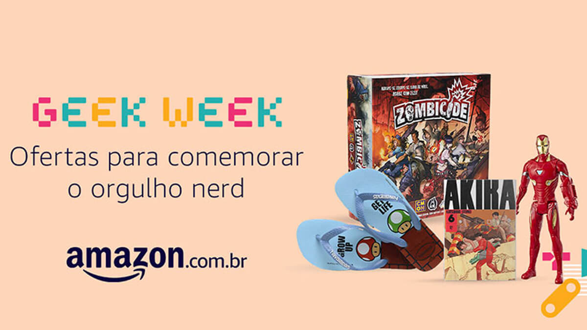 Amazon anuncia a Amazon Geek Week com muitos descontos