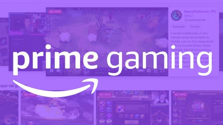 Amazon Prime Gaming | Amazon anuncia plataforma que substituirá Twitch Prime