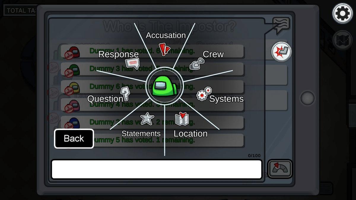 Among Us   Game adiciona nova função ao chat