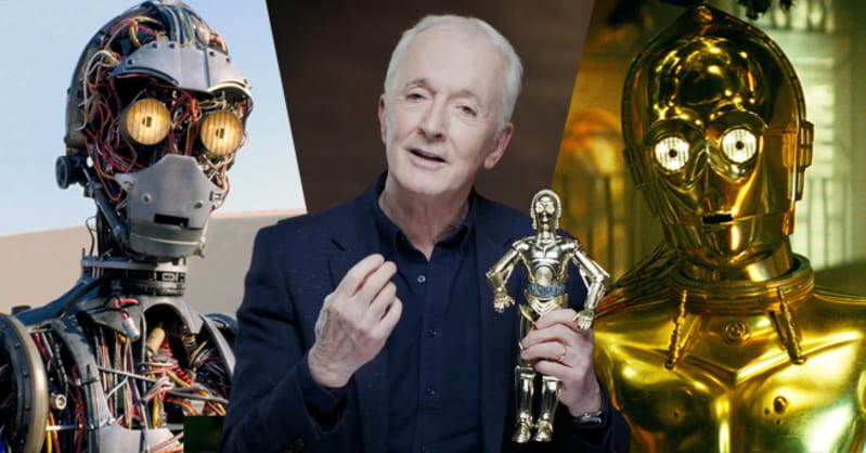 Anthony Daniels ficou emocionado com a importância de C-3PO no final da saga Star Wars