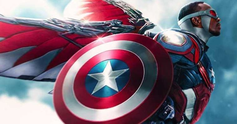 Anthony Mackie comenta sobre o novo Capitão América da Marvel.