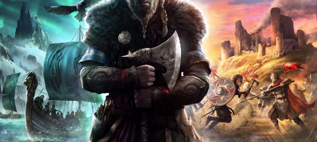 Assassin's Creed Valhalla será o novo lançamento da Ubisoft