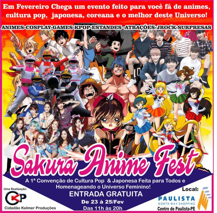 Sakura Fest | primeira convenção de cultura pop feminina do Brasil