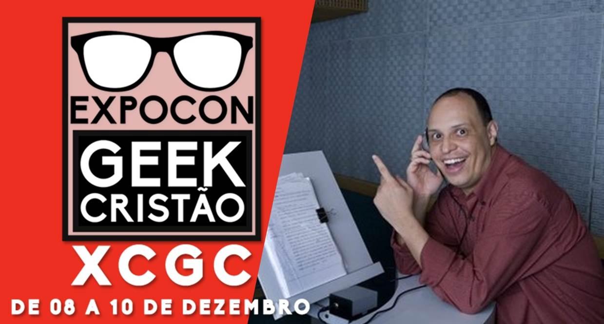 Pr. Marco Ribeiro   Dublador de Homem de Ferro estará no ExpoCon Geek Cristão